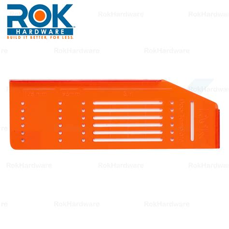 Rok Hardware Knob Handle Pull Drill Mount Template For Cabinet Doors And Drawers 856791005942 Ebay Hardware Template