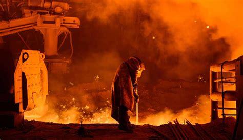 Steel Plant Steel Crisis Uk For Blocking Eu Trade Defences