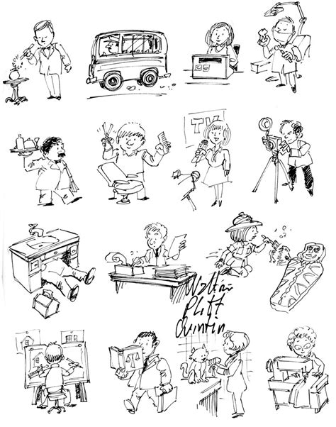 colonial jobs coloring pages pictures of occupations coloring home