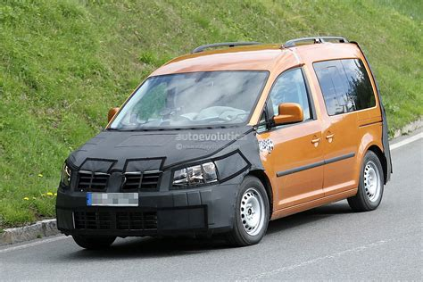 volkswagen caddy 2015 new volkswagen caddy spied testing for 2015 launch