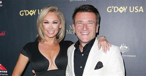 does robert on shark tank dye his hair dwts kym johnson and robert herjavec are engaged us weekly