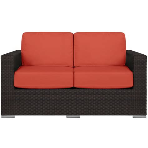 orange loveseat city furniture fina orange loveseat
