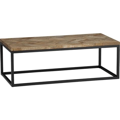 diy coffee table modern with reclaimed wood look 60