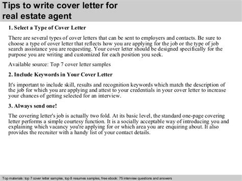real cover letters that worked real estate cover letter