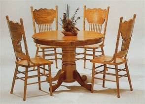 Oak Kitchen Table And Chairs Wooden Table Chair Designs An Interior Design