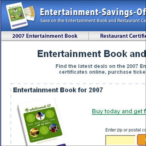 entertainment books orlando entertainment savings offers includes the promotional offers for the 2007