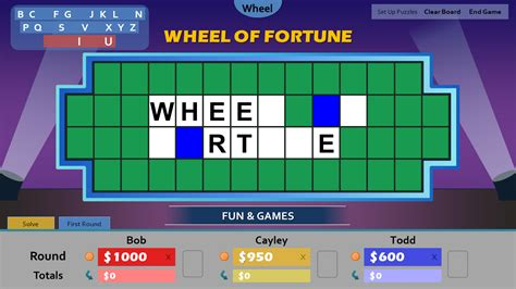 Wheel Of Fortune Powerpoint Game Template Images Wheel Of Fortune Powerpoint Template