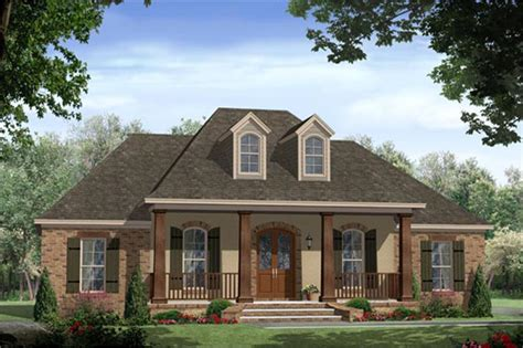 acadian country home plan 4 bedroom house plan