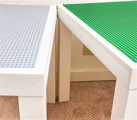 table with velcro diy lego table with storage velcro tables together the