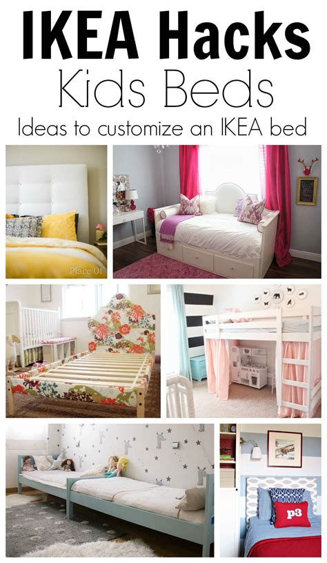 ikea hack ideas  customize kids beds teen girl room
