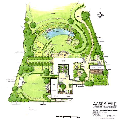 design a garden layout views and vistas acres wild