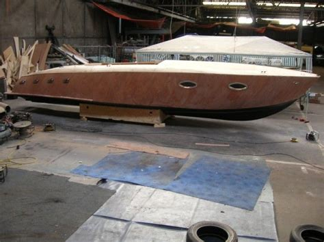 wooden powerboat plans mahogany runabout boat plans boat building runabout
