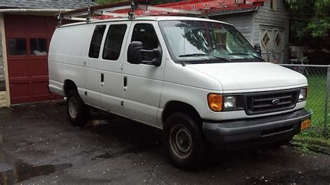 how cars engines work 2003 ford e series navigation system sell used 2003 ford e350 econoline van cargo van color white in kingston new york united
