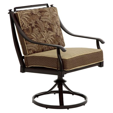 Bombay Outdoors Normandy Swivel Patio Dining Chairs With Outdoor Swivel Dining Chairs