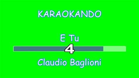 accoccolati ad ascoltare il mare testo karaoke italiano e tu claudio baglioni testo