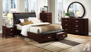 modern furniture el paso contemporary bedroom set with storage drawers brand new