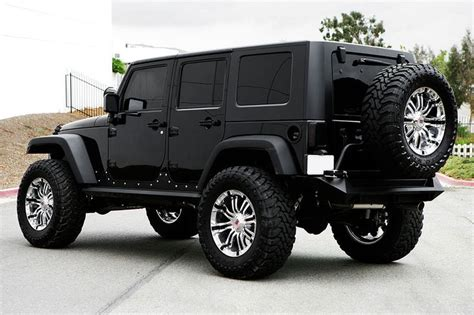 Black Four Door Jeep by 25 Best Ideas About Black Jeep On Black Jeep