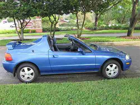 Honda Civic Sol Si by Find Used 1993 Honda Civic Sol Si Coupe 2 Door 1 6l In