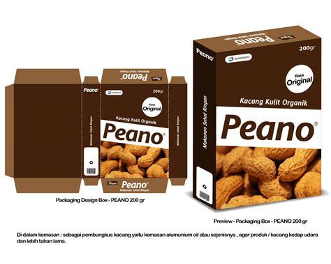 desain kemasan snack unik galeri desain kemasan makanan kacang kulit organik merk p