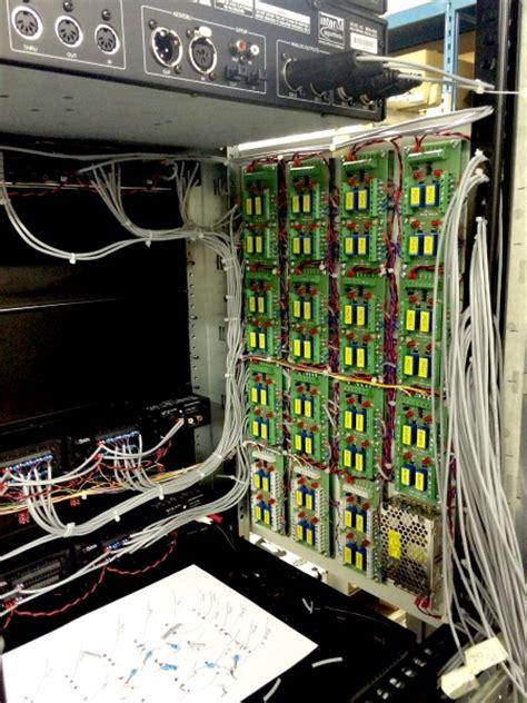 Pa System Rack Cabinet by Cie Av Solutions Pa Av Rack Design Build System Rack Build