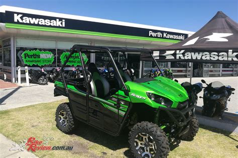 Kawasaki Motorcycle Dealership by Perth Kawasaki New Western Australian Dealership Bike