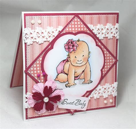 Handmade Newborn - the gallery for gt handmade baby card ideas