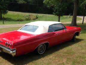 1965 chevrolet impala convertible ss badged 327 auto for