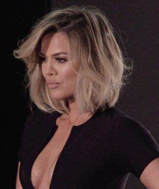 khloé kardashian debuts short lob best 25 khloe kardashian haircut ideas on pinterest