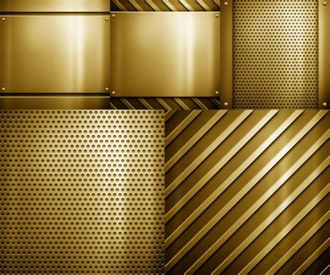 precision pattern works golden steel plate of the five highprecision