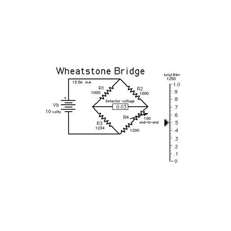 wheatstone bridge determine unknown resistance how does a wheatstone bridge work
