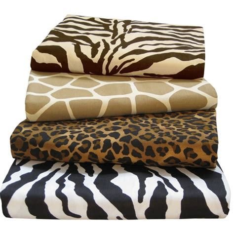 animal print bedding 4005 queen printed sheet set sheets bed mattress sale