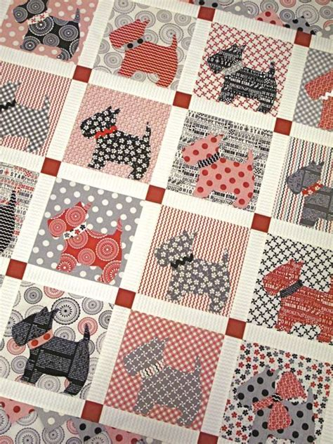 Scottie Quilt Pattern by Any Chance I Could Get You To Make This Scottie Quilt