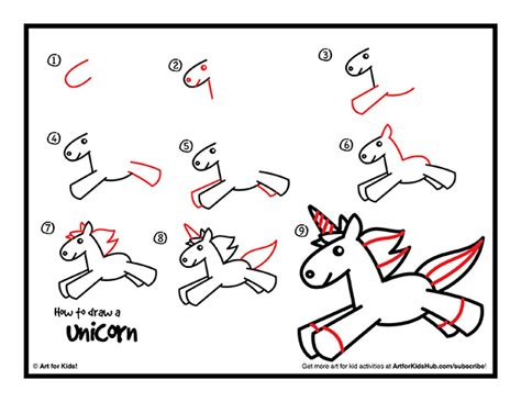 how to draw a doodle unicorn how to draw a unicorn for free printable unicorns