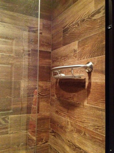 ceramic tile ideas for bathrooms best 25 wood tile bathrooms ideas on wood