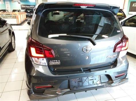 2016 Toyota Agya E 1 0 M T jual mobil toyota agya 2017 trd 1 2 di jawa timur manual
