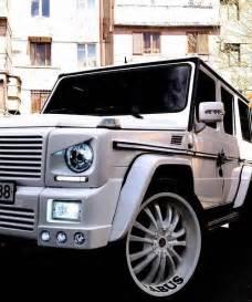 Mercedes G Wagon Suv White Merceds Suv My Suv Cars