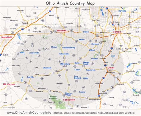 printable map holmes county ohio image gallery ohio amish country