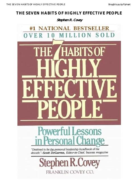 The 7 Habits Of Highly Effective By Stephen Covey Animated And Explained Dailyzen Stephen Covey The Seven Habits Of Highly Effective Version 2