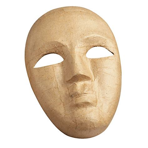 Mask With Paper - pacon paper mache mask brown by office depot officemax