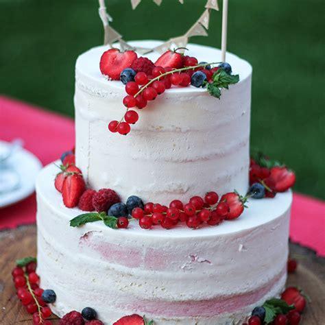 Hochzeitstorte Beeren by Hochzeitstorte Mit Beeren Semi Cake Zweist 246 Ckig