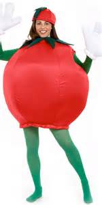 Adult tomato costume 9507 fancy dress ball