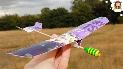 how to make a paper airplane cardboard glider test