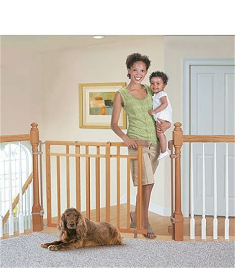 dual banister baby gate 1000 images about stairs on pinterest newel posts