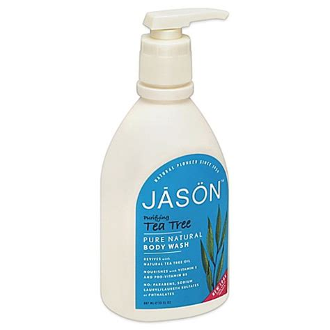 Detox Tea At Bed Bath And Beyond by Jason 30 Oz Purifying Tea Tree Wash