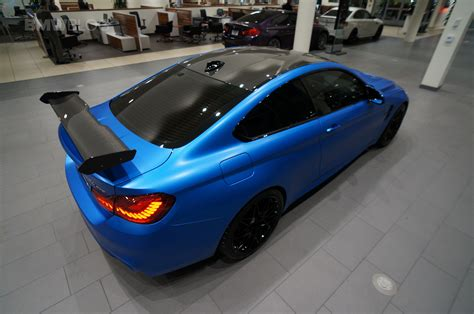 west coast customs works their magic on a bmw m4 gts
