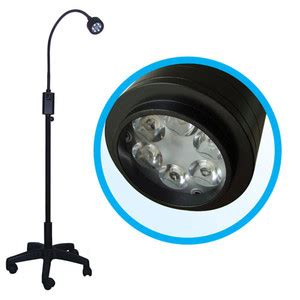 free standing examination light q6 led examination l free mobile stand dimmer