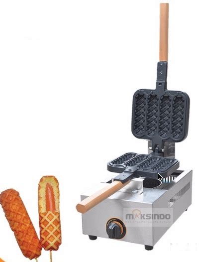 Mesin Waffle Gas jual mesin gas stick waffle waffle sw04 di surabaya toko mesin maksindo surabaya