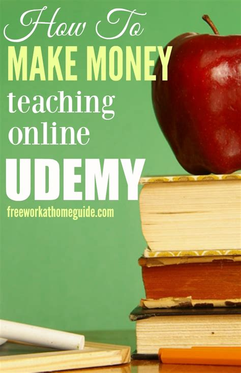 How To Make Money Teaching Online - how to make money teaching an online course on udemy best work from home jobs