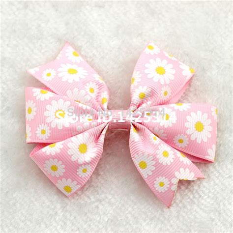ribbon boutique boutique ribbon sun flower bow for children lovely bowknot hairpins princess hair baby