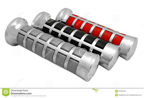 Handgrip Motor Jupiter Z Motorcycle Handle Grip Royalty Free Stock Images Image
